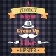 Hipster Retro Poster - GraphicRiver Item for Sale