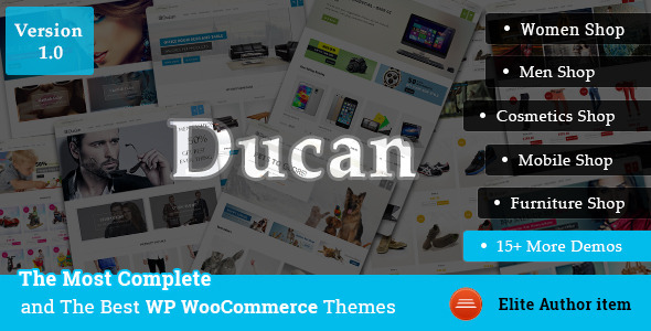 ThemeForest Ducan- Start An Online Store Woocommerce WP Theme 8625137