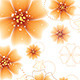 Orange Flowers Design - GraphicRiver Item for Sale