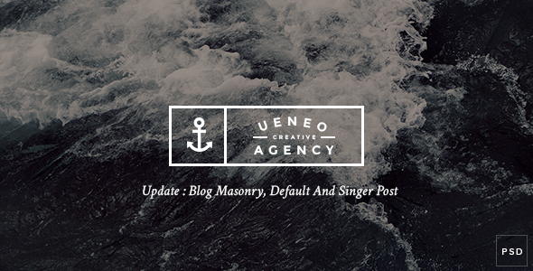 Ueneo Creative One Page PSD Template