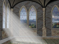 God Rays Through An Arched Window - PhotoDune Item for Sale