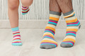 father and son in socks - PhotoDune Item for Sale
