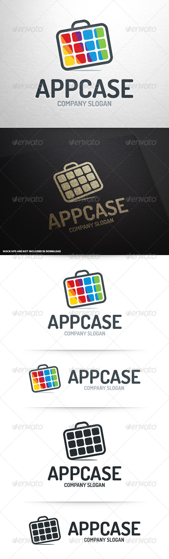 GraphicRiver App Case Logo Template 8748067
