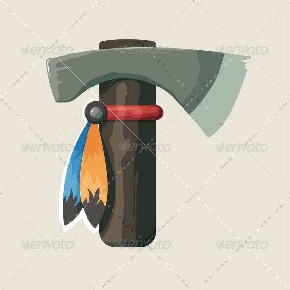 GraphicRiver Native American Indian Toma 8748074