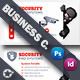 Security Systems Business Card Templates - GraphicRiver Item for Sale