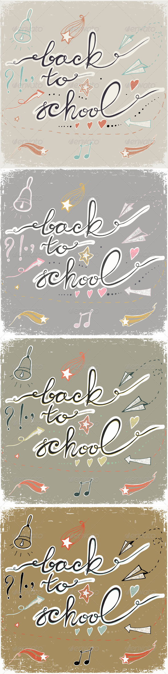 GraphicRiver Back to School 8745990