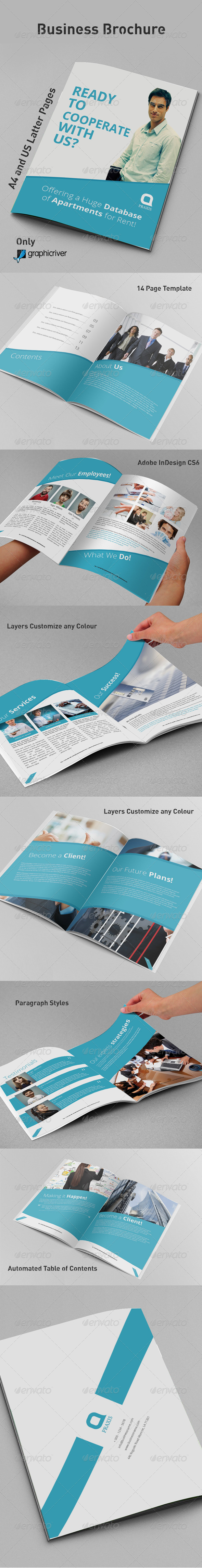 GraphicRiver Business Brochure 8748170