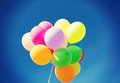 lots of colorful balloons in the sky - PhotoDune Item for Sale