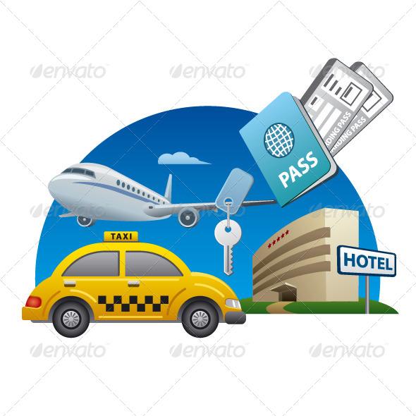 GraphicRiver Travel Service Icon 8748233