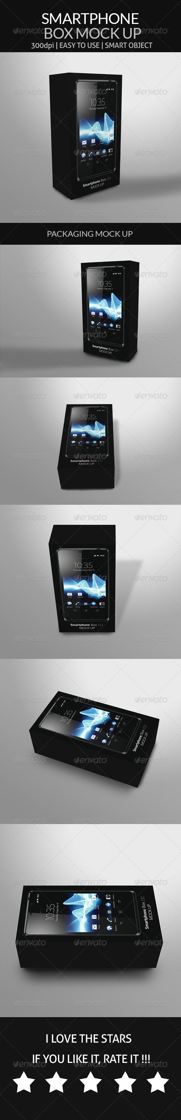 GraphicRiver Smartphone Box Mock Up 8748241