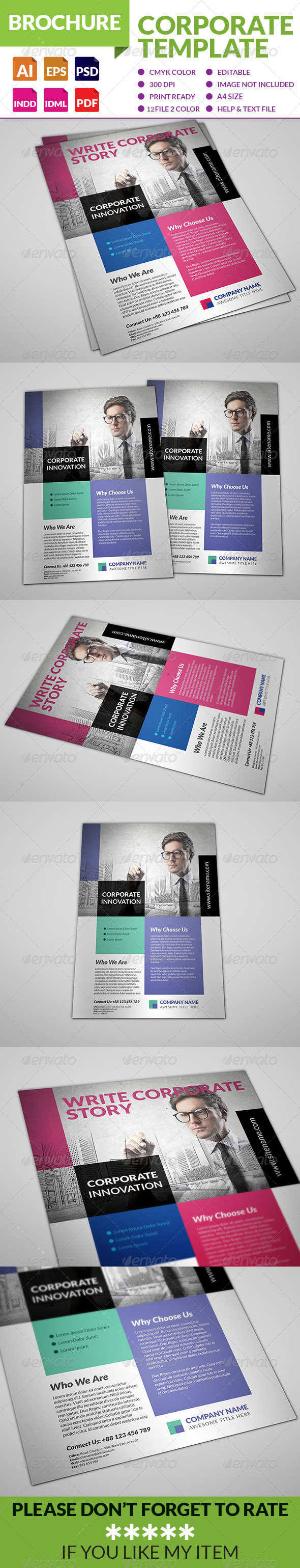 GraphicRiver Corporate Multipurpose Flyer 8748420