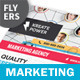 Marketing and Advertising Flyers – 4 Options - GraphicRiver Item for Sale