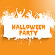 Grunge Halloween Party Background - GraphicRiver Item for Sale