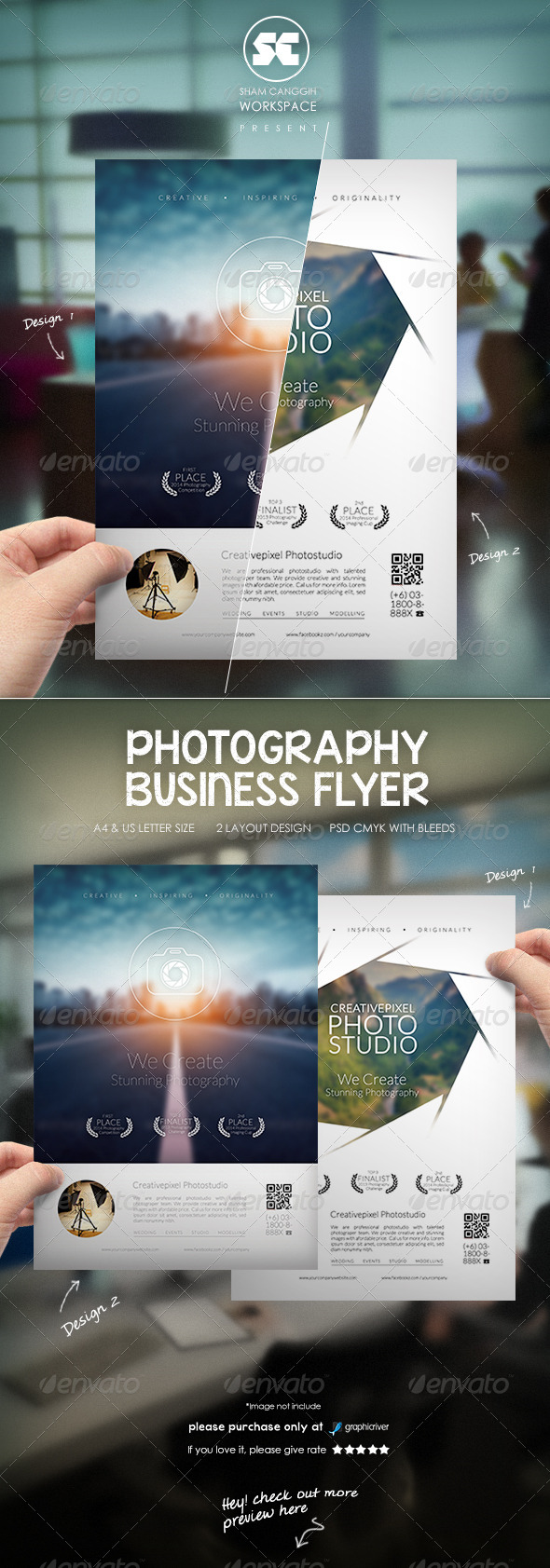 GraphicRiver Photography Business Flyer 8748575