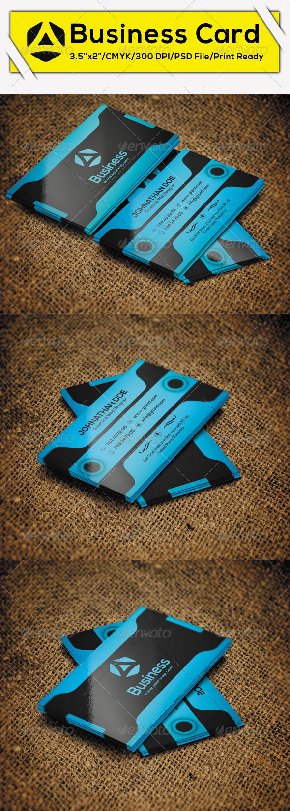 GraphicRiver Creative Business Card 11 8748593