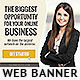 Corporate Web Banner Design Template 50