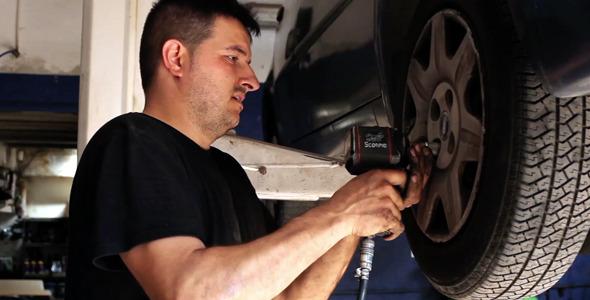 Fixing Cars Wheel