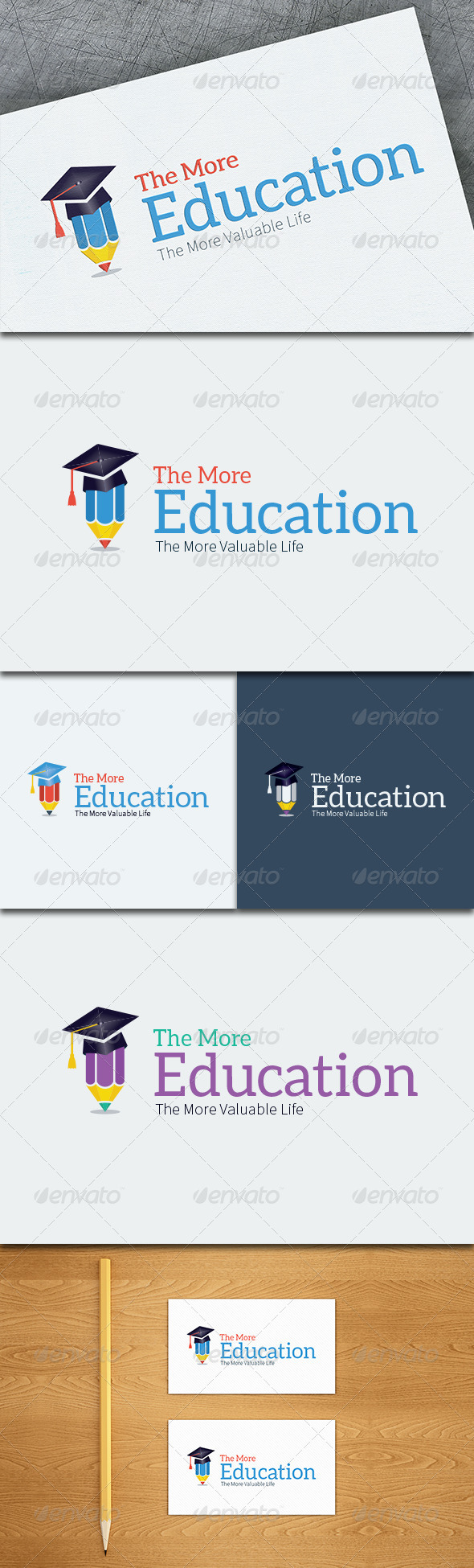 GraphicRiver Education Logo Template 8748871