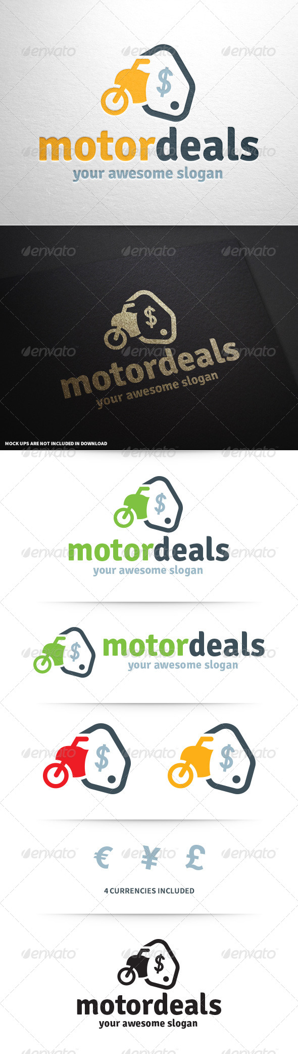 GraphicRiver Motor Deals Logo Template 8748872