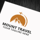 Mount Travel Logo Template - GraphicRiver Item for Sale