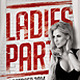 Ladies Party Flyer Template - GraphicRiver Item for Sale