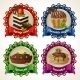Sweets Ribbon Banners - GraphicRiver Item for Sale