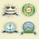 Summer Sea Emblems - GraphicRiver Item for Sale