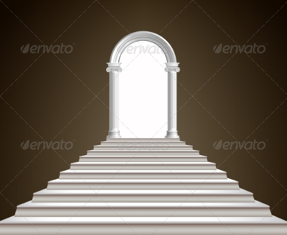GraphicRiver Staircase and Arch 8749025