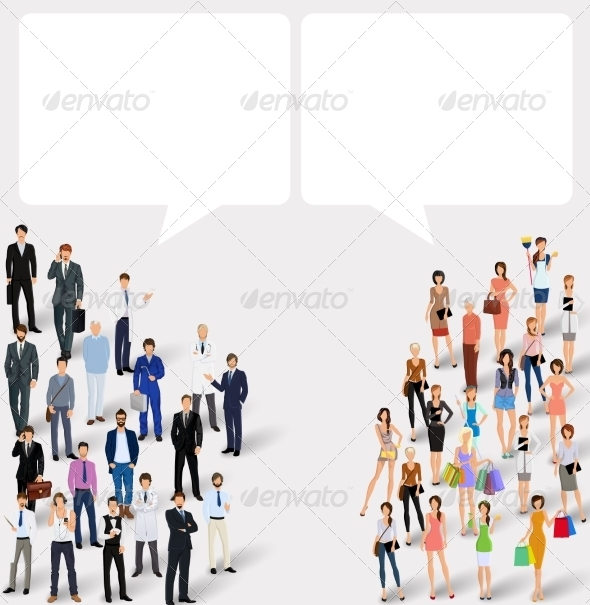 GraphicRiver Chat People Concept 8749078