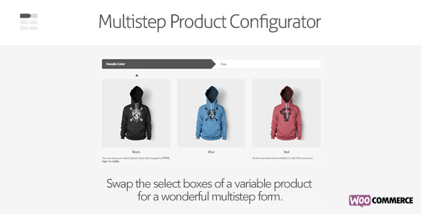 CodeCanyon Multistep Product Configurator for WooCommerce 8749384