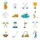 Golf Icons Set - GraphicRiver Item for Sale