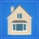Architecture Background with Detailed House - GraphicRiver Item for Sale