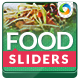 Restaurant & Cafe Sliders - GraphicRiver Item for Sale