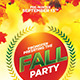 Fall Paty Flyer - GraphicRiver Item for Sale