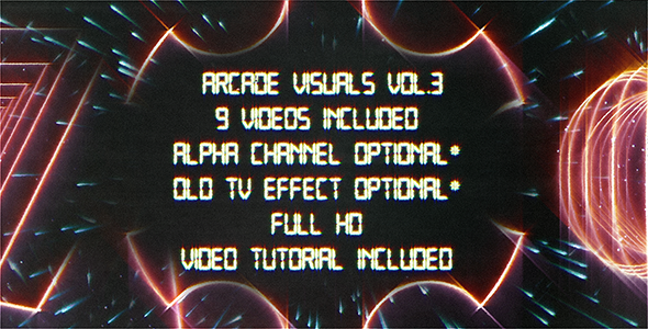 Retro Arcade Visuals Vol.3