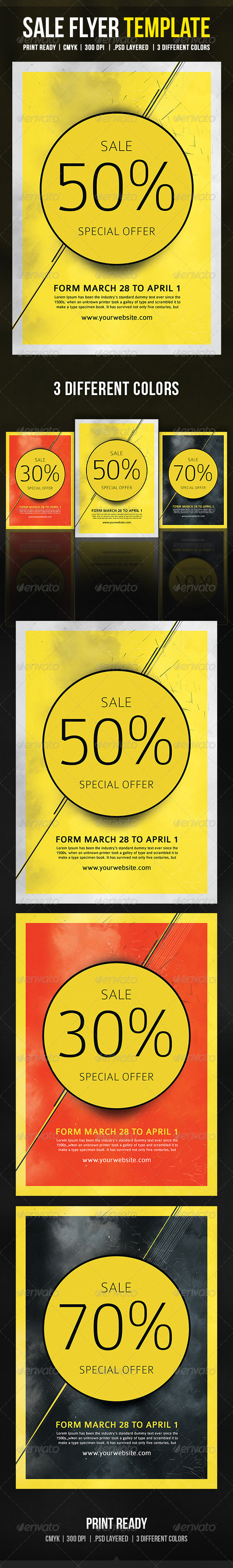 GraphicRiver Sale Flyer Template 8750631