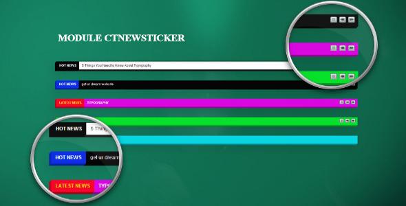 Joomla Newsticker Module