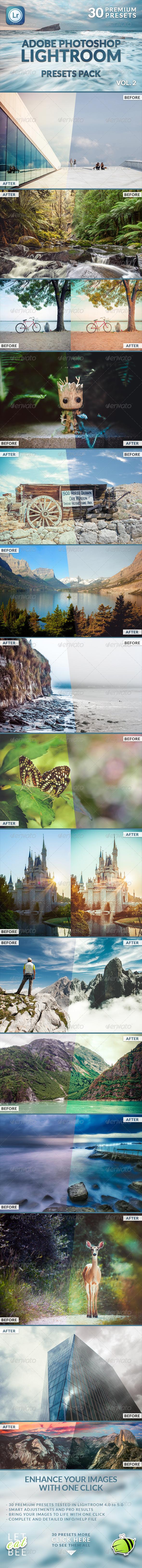 GraphicRiver 30 Premium Lightroom Presets Vol 2 8750901