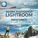 30 Premium Lightroom Presets  Vol. 2 - GraphicRiver Item for Sale