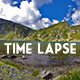 Clouds Over a Mountain Lake - VideoHive Item for Sale