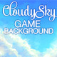 Cloudy Sky Game Background - GraphicRiver Item for Sale