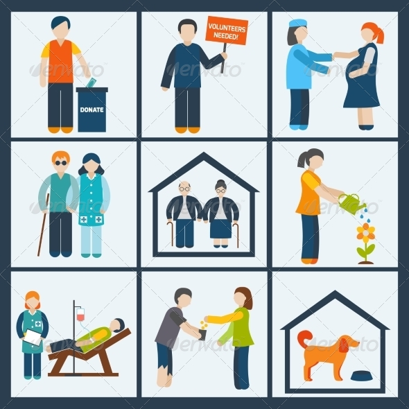 GraphicRiver Social Services Icons Set 8751596
