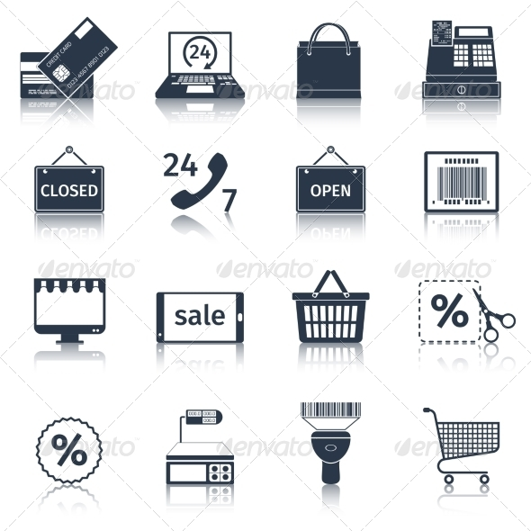 GraphicRiver E-Commerce Icons Set 8751659