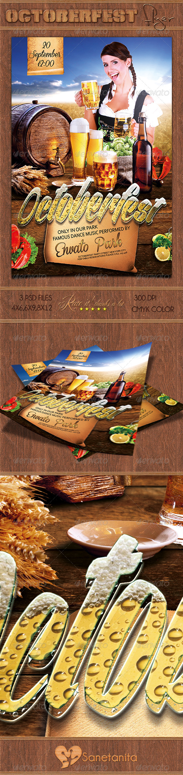 GraphicRiver Octoberfest Flyer 8751668