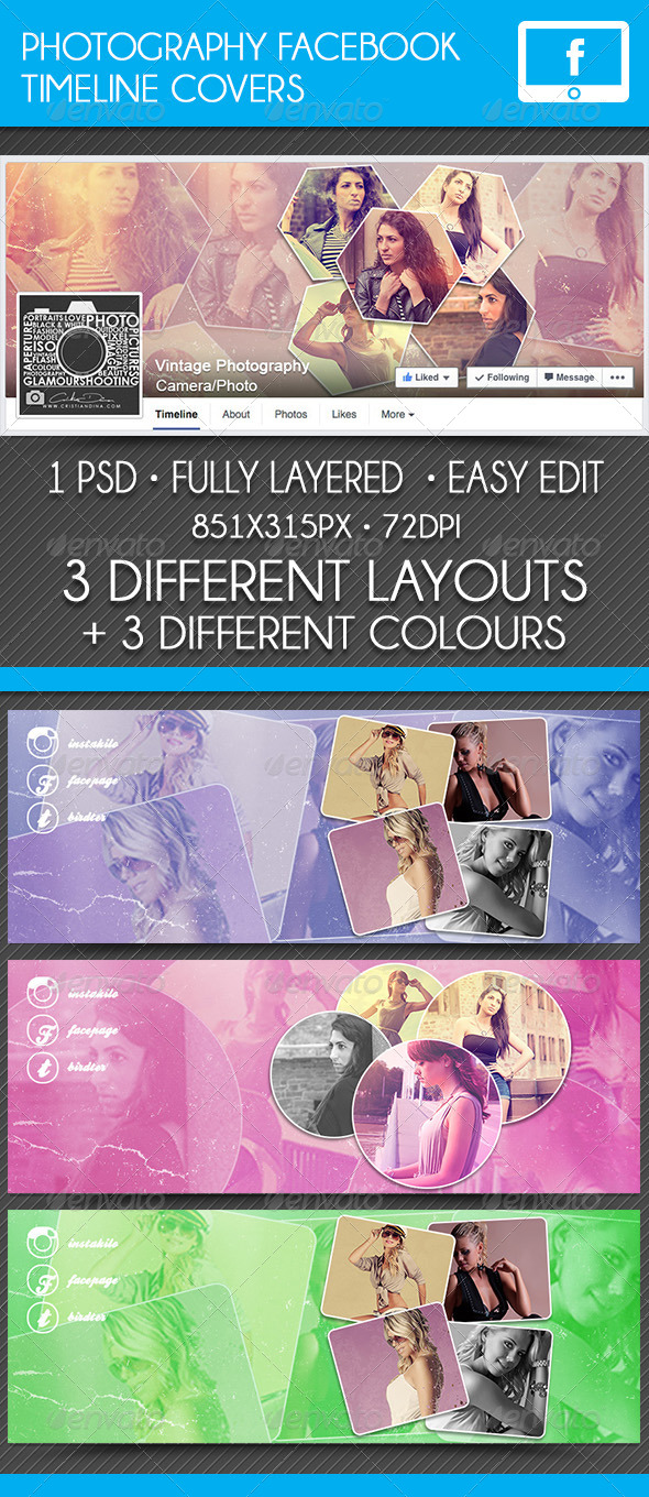 GraphicRiver Photography Facebook Timeline Cover 8751713
