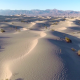 Flying Over Sand Dunes - VideoHive Item for Sale