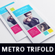 Metro Style Trifold Brochure - GraphicRiver Item for Sale