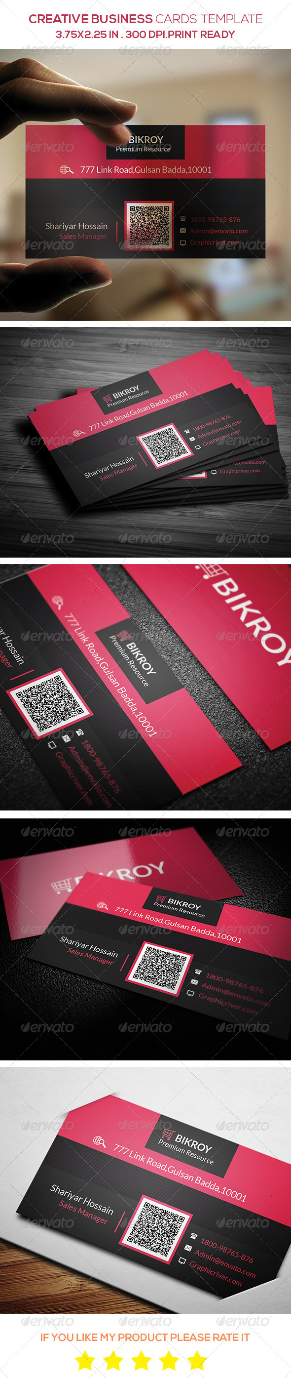 GraphicRiver Creative Business Cards Template 8751862