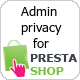 Admin privacy for Prestashop - CodeCanyon Item for Sale