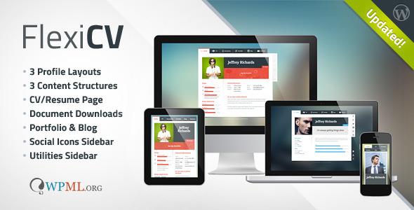 FlexiCV - Responsive WP vCard (Multipurpose) - Portfolio Creative